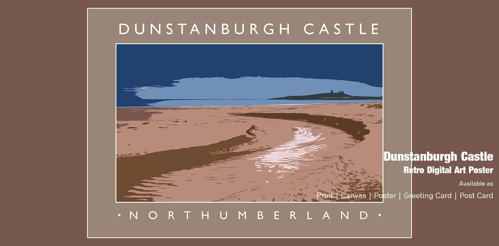Dunstanburgh Castle Ponteland Print & Publishing