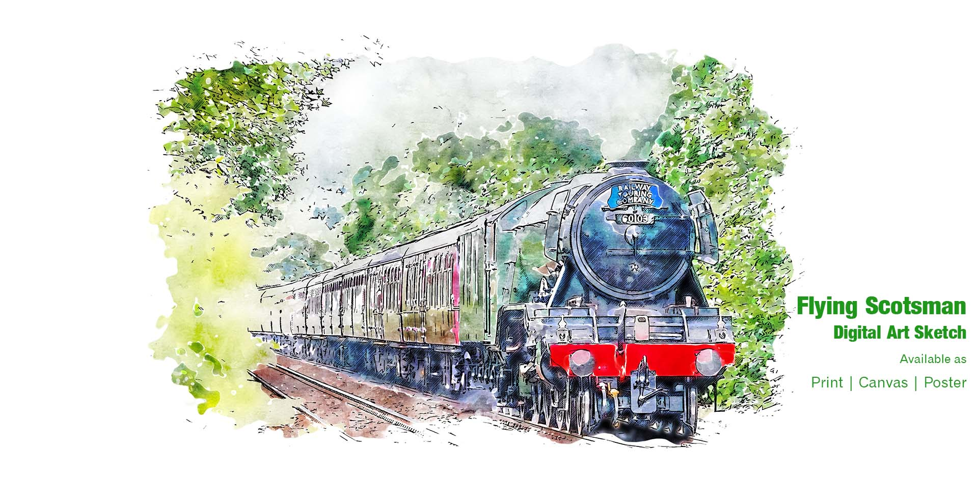 Flying Scotsman Ponteland Print & Publishing