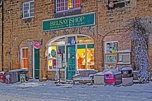 Belsay Shop-4597D Xmas Card