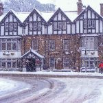 Diamond Inn, Ponteland Winter Snow Scene