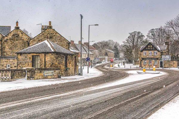 Ponteland March Snow-5662 Xmas Card 2018