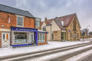 Bell Villas in the Snow-5628 Ponteland Print