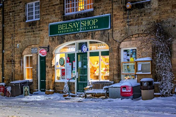 Belsay Shop Warm Welcome-4597 Xmas Card