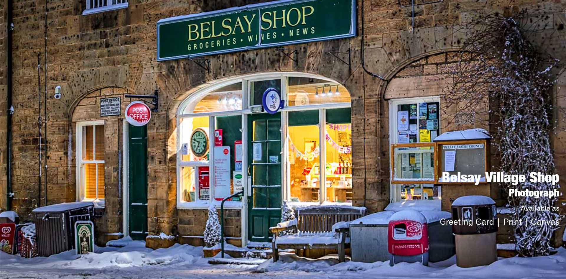 Belsay Village Shop | Ponteland Print & Publishing