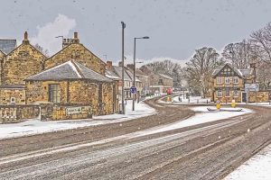 Ponteland March Snow-5662XD Xmas Card | Ponteland Print & Publishing