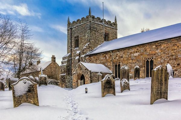 St. Bartholomew Church, Kirkwhelpington-4903 Xmas Card Ponteland Print & Publishing