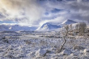 Winter at Loch Ba, Rannoch Moor-2903 Christmas Card Ponteland Print & Publishing