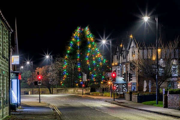 Diamond Inn and Christmas Lights | Ponteland Print & Publishing