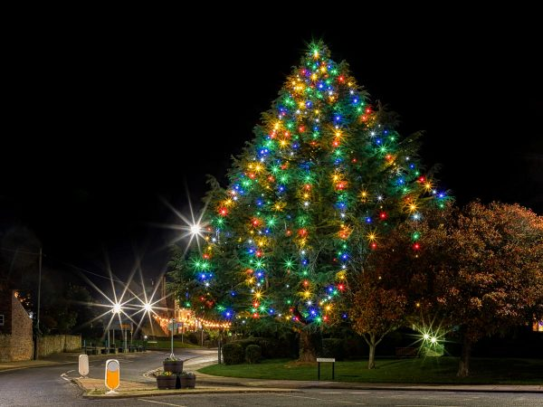 Ponteland Village Green Christmas Lights 3478 | Ponteland Print & Publishing